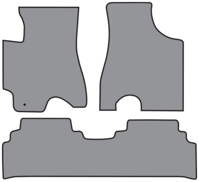 ACC  Lexus RX300 2pc Frts & 1pc Rr Floor Mat (FM137 FM137R) Cutpile, 1999-2002