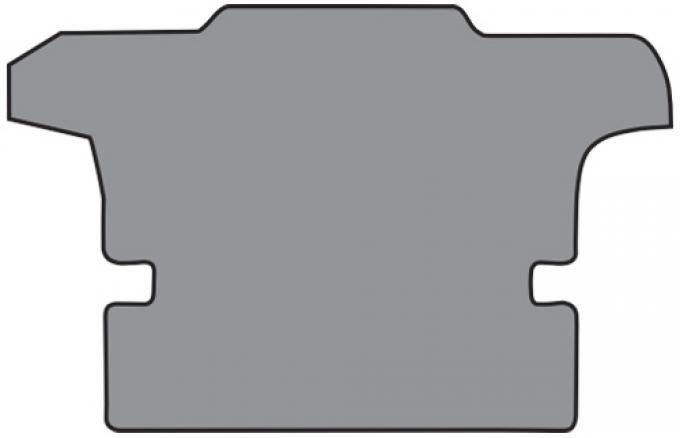 ACC  Chevrolet Corvette Coupe Cargo Mat 1pc (BP38) Cutpile, 1997-2004