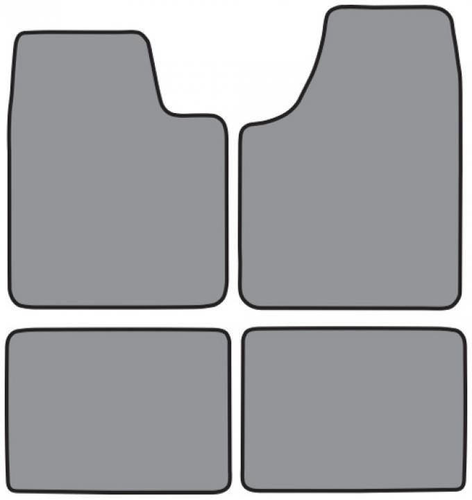 ACC  Pontiac Grand Prix Floor Mat 4pc (FM293 FM293R) Cutpile, 1997-2005