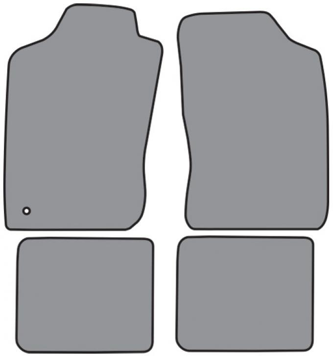 ACC  Toyota 4Runner Floor Mat 4pc (FMA5342 FM18R) Cutpile, 1990-2002
