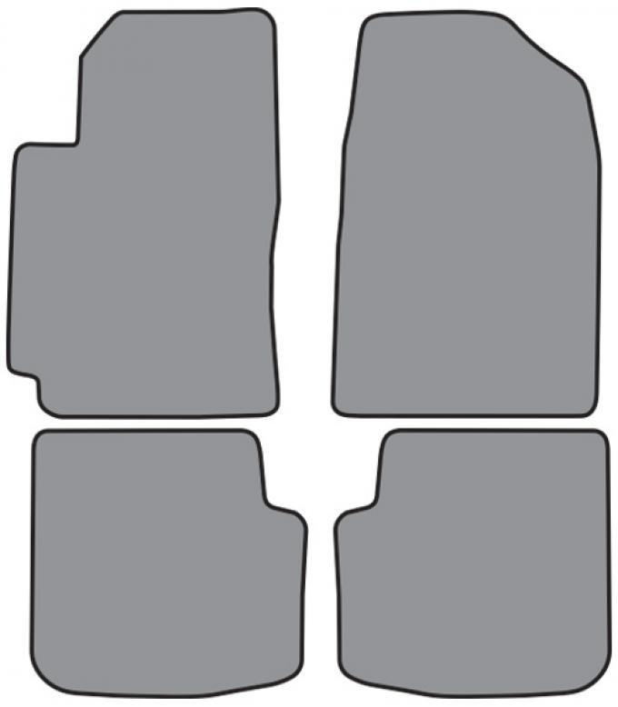 ACC  Toyota Solara Floor Mat 4pc (FM190 FM190R) Cutpile, 1999-2002