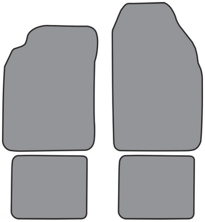 ACC  Nissan Altima Floor Mat 4pc (FM198F FM18R) Cutpile, 1993-2001
