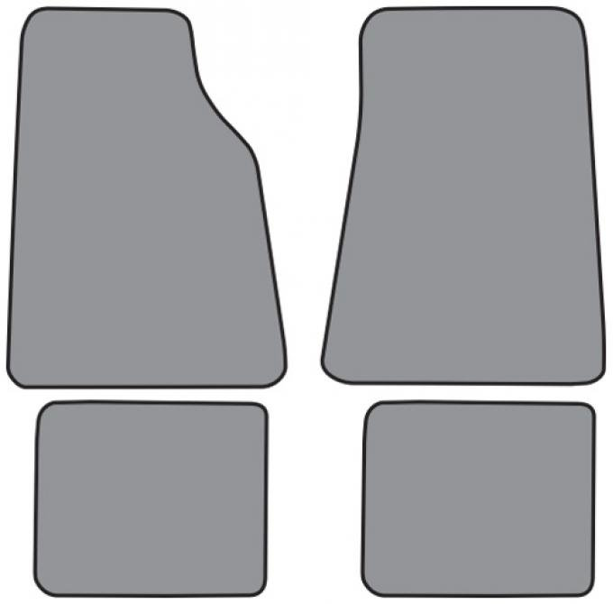 ACC  Lincoln Town Car Floor Mat 4pc (FM68F FM18R) Cutpile, 1990-2011