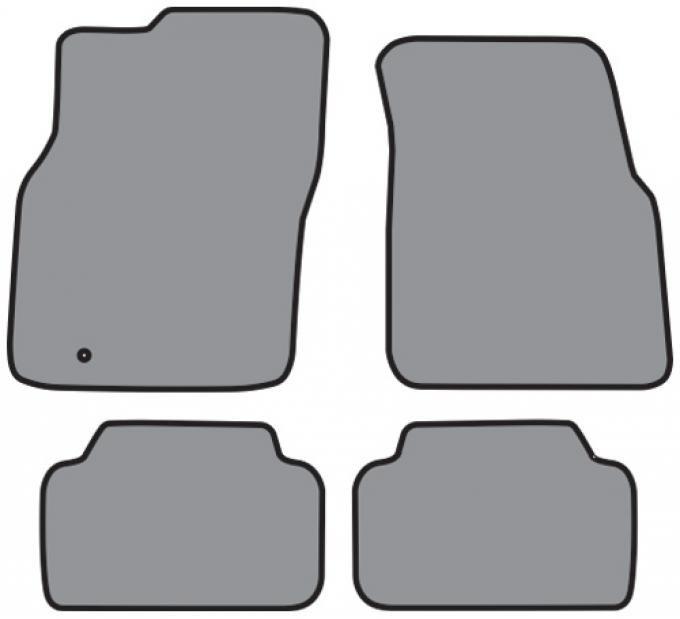ACC  Lincoln Mark VIII Floor Mat 4pc (A5327 A5327R) Cutpile, 1993-1998
