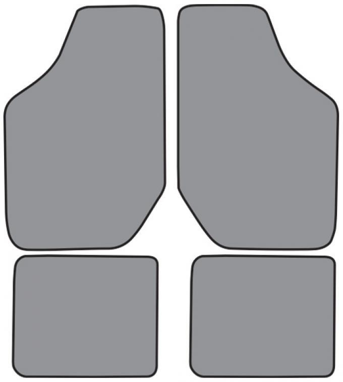 ACC  Buick Century Floor Mat 4pc (FM151F FM18R) Cutpile, 1994-1996