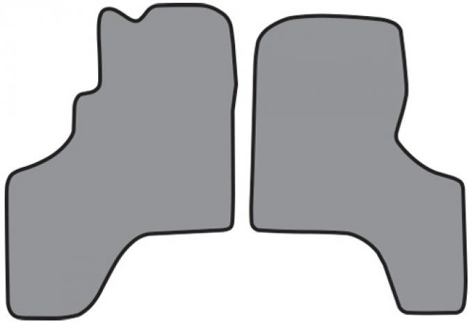 ACC  Toyota Previa Floor Mat Frt Row 2pc (FM150F) Cutpile, 1994-1997