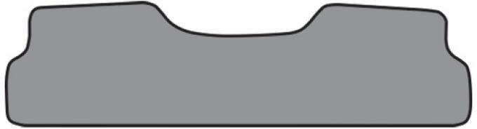 ACC  Chevrolet C10 Suburban Rear Only Floor Mat 2nd Row 1pc (FM195R) Cutpile, 1974-1986