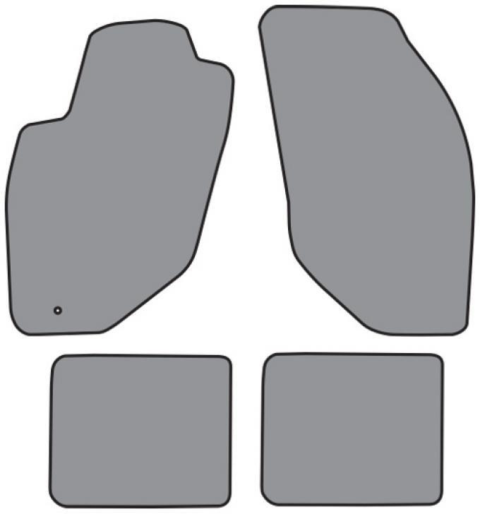 ACC  Lincoln Continental Floor Mat 4pc (A5351F FM18R) Cutpile, 1998-2002