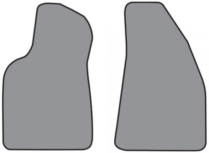 ACC  Mercury Cougar Floor Mat Frt Row 2pc (A5279F) Cutpile, 1999-2002