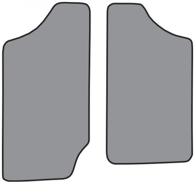 ACC  GMC Sonoma Reg Cab Floor Mat 2pc (FM16F) Cutpile, 1991-1993