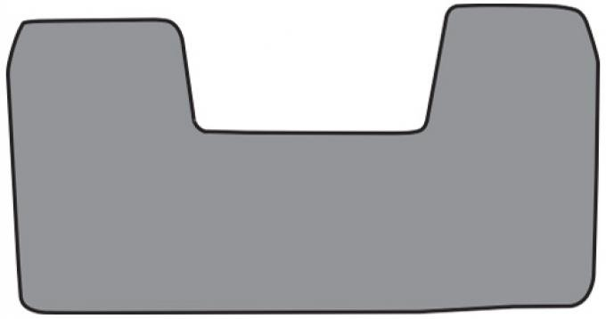 ACC  Chevrolet C1500 Floor Mat Frt Row 1pc (FM107F) Cutpile, 1988-1999