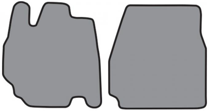 ACC 1995-1998 Ford Windstar Floor Mat Frt Row 2pc (FM157F) Cutpile