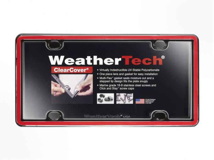 WeatherTech 60022 - License Plate Cover