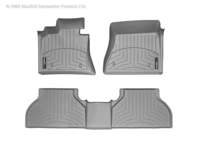 WeatherTech 46565-1-2 - Gray FloorLiner(TM) DigitalFit
