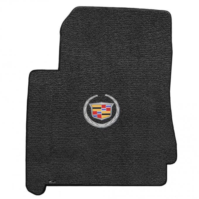 Lloyd Mats 2010-2011 Cadillac SRX Srx 2010-2011 3pc Mats Ebony Ultimat Cadillac Logo 600089
