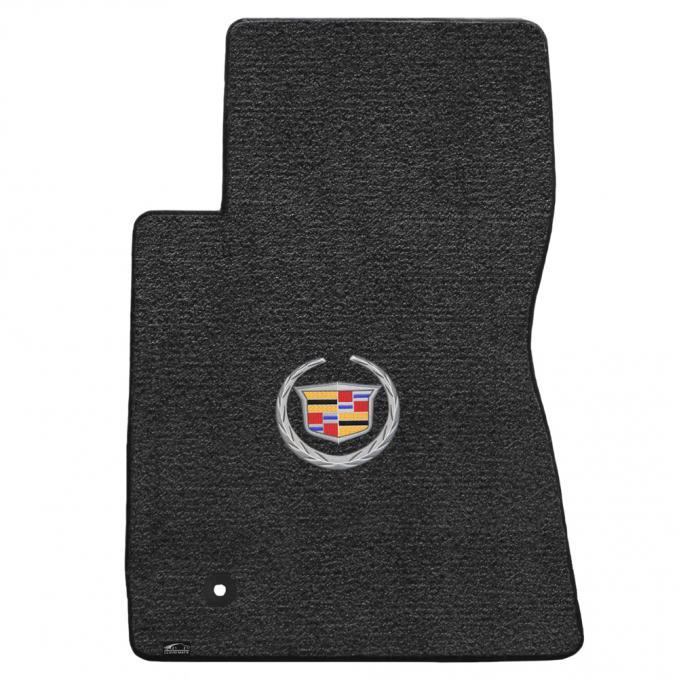 Lloyd Mats 2011-2015 Cadillac CTS CTS-V Coupe 2011-2015 2 Piece Mats Ebony Ultimat Cadillac Logo 600080