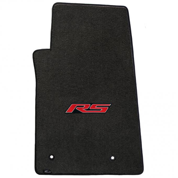 Lloyd Mats 2010-2015 Chevrolet Camaro Camaro 2010-on 2 Piece Mats Ebony Velourtex RS Logo 620003