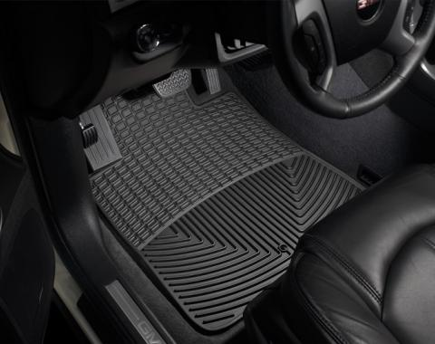 Weathertech W415, Floor Mat, All Weather, Direct-Fit, Deeply Sculpted Channels, Black, Rubber, 2 Piece