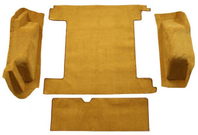 ACC  Ford Bronco 2 Gas Tanks with Tailgate Lock Cargo Area Loop Carpet, 1966-1973
