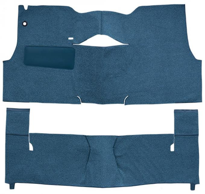 ACC  Chevrolet Sedan Delivery 2DR Sedan Bench Seat Loop Carpet, 1956