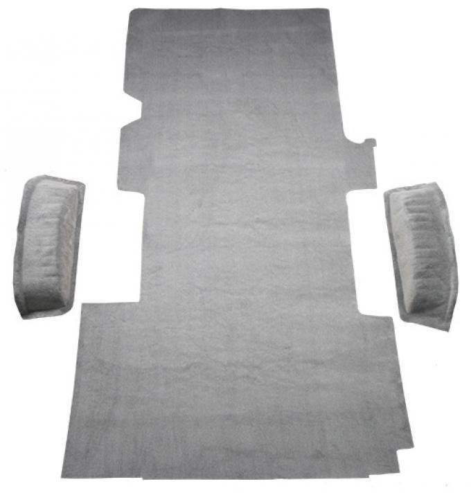 ACC  Ford E-150 Econoline Ext Fits Gas or Diesel Cargo Area Cutpile Carpet, 1992-2002
