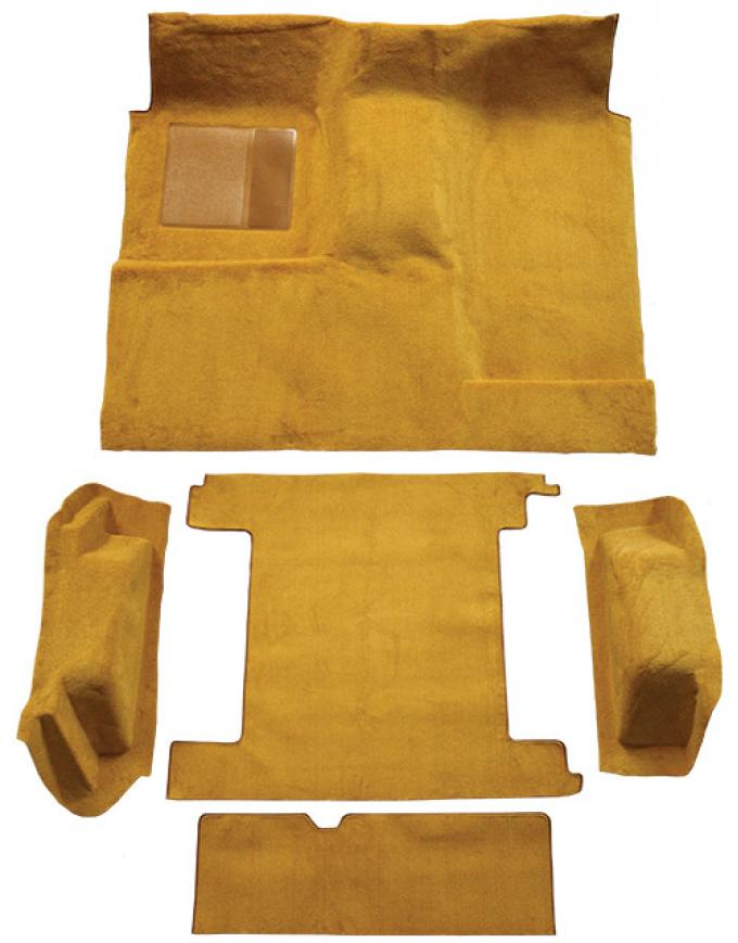 ACC  Ford Bronco 2 Gas Tanks Complete with Tailgate Lock Loop Carpet, 1966-1973