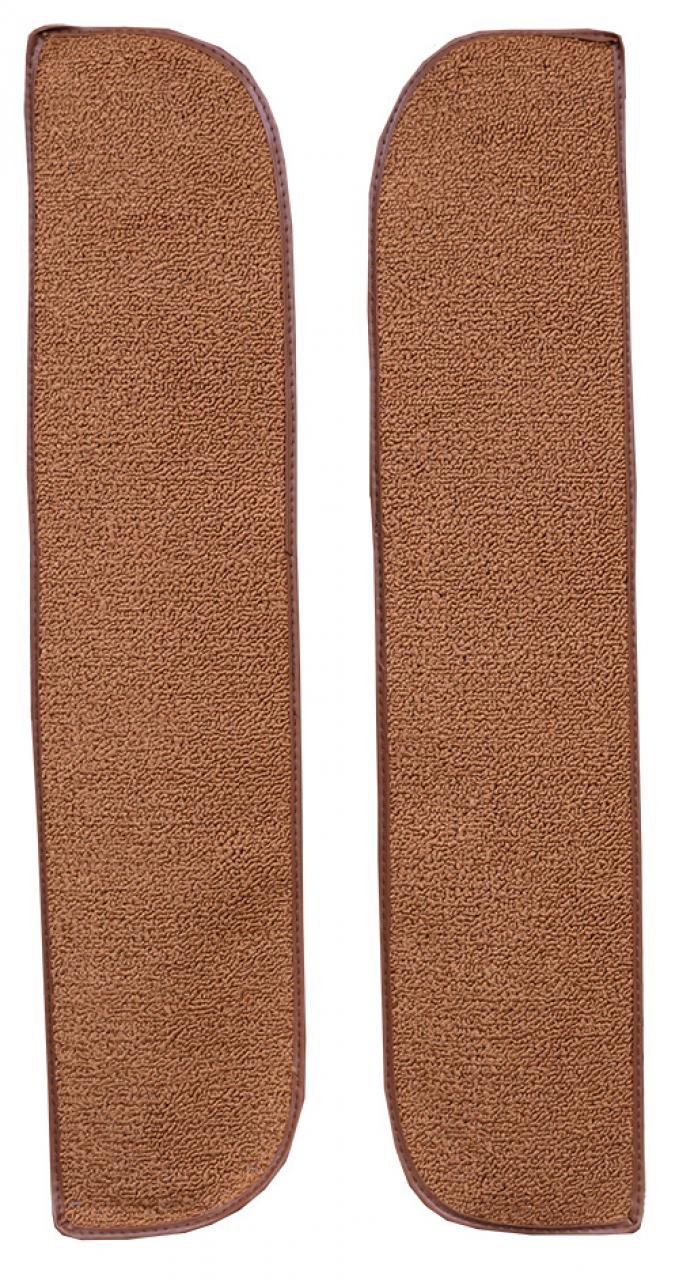 ACC  Chevrolet C10 Pickup Door Panel Inserts without Cardboard 2pc Loop Carpet, 1967-1972