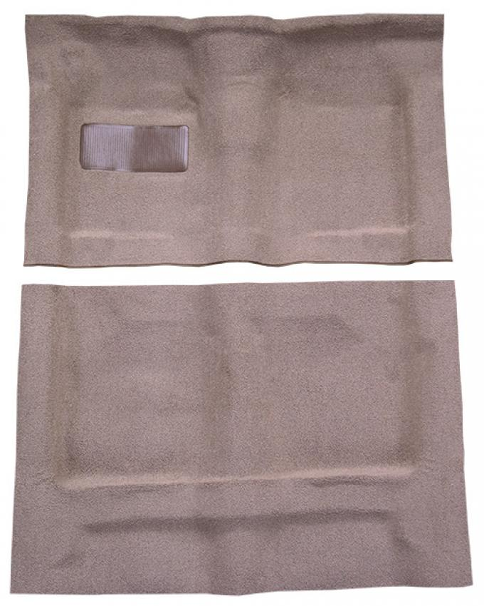 ACC  Oldsmobile Dynamic 2DR Hardtop Auto Bench Seat without Console Loop Carpet, 1961-1962