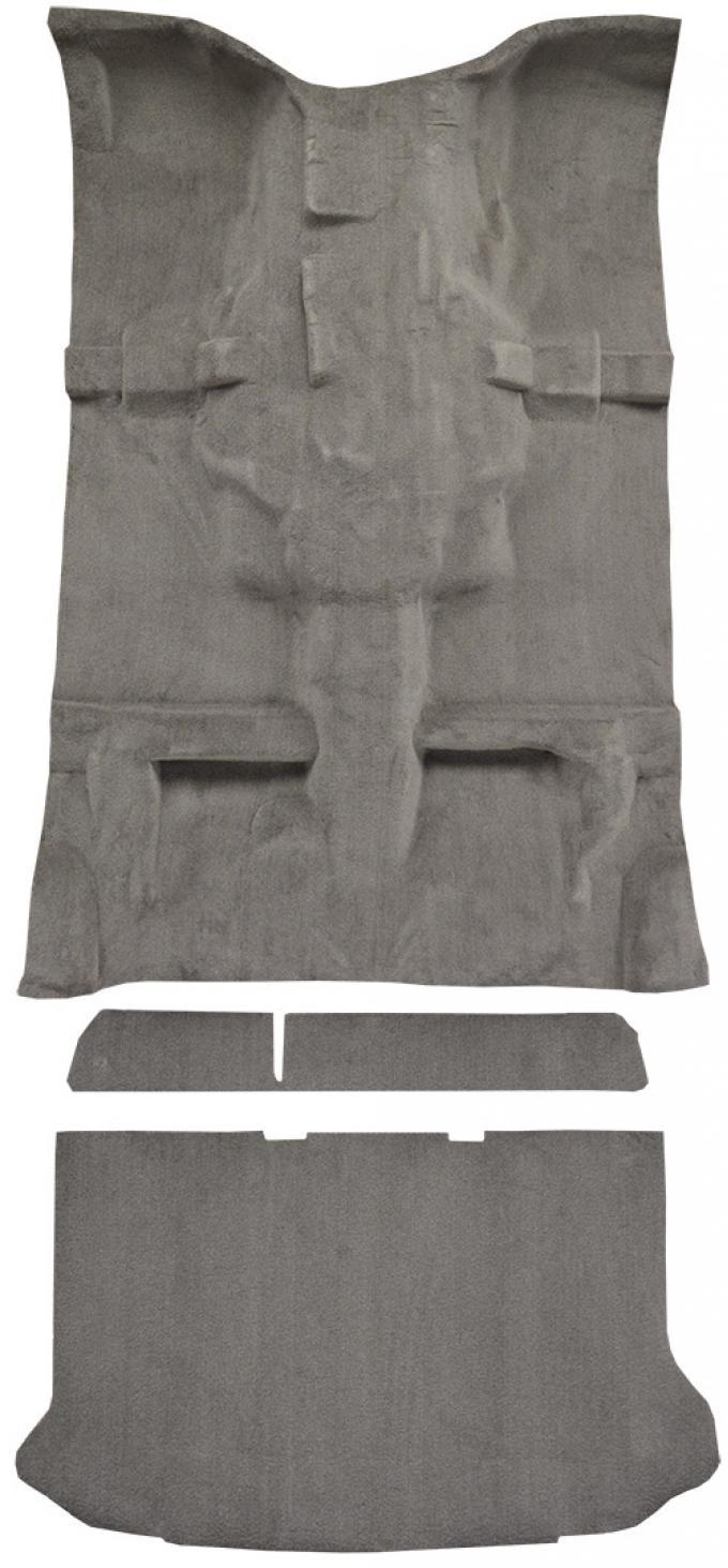 ACC  Jeep Liberty w/o Heel Pad Complete Cutpile Carpet, 2002-2007