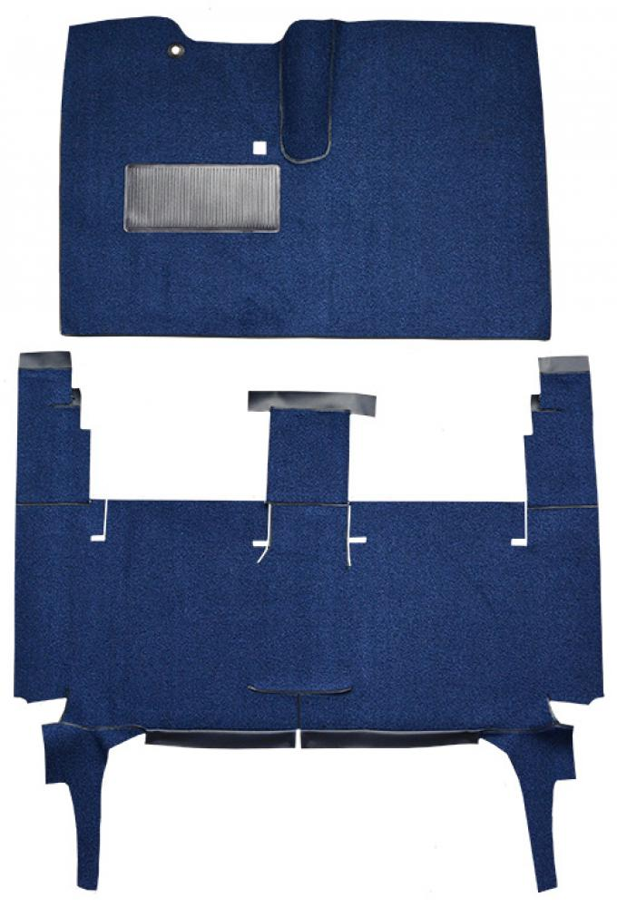 ACC  Chevrolet Corvair 4DR Sedan Tuxedo Carpet, 1960-1964