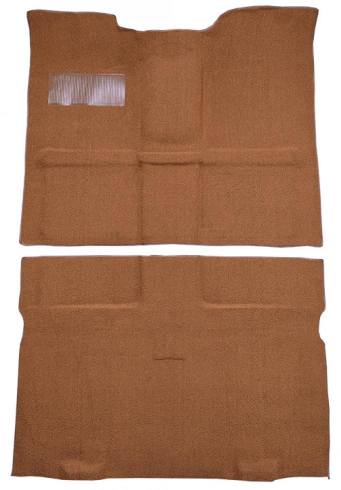 ACC  Chevrolet C10 Suburban 2WD 4spd Floor Shift Pass Area Loop Carpet, 1967-1972