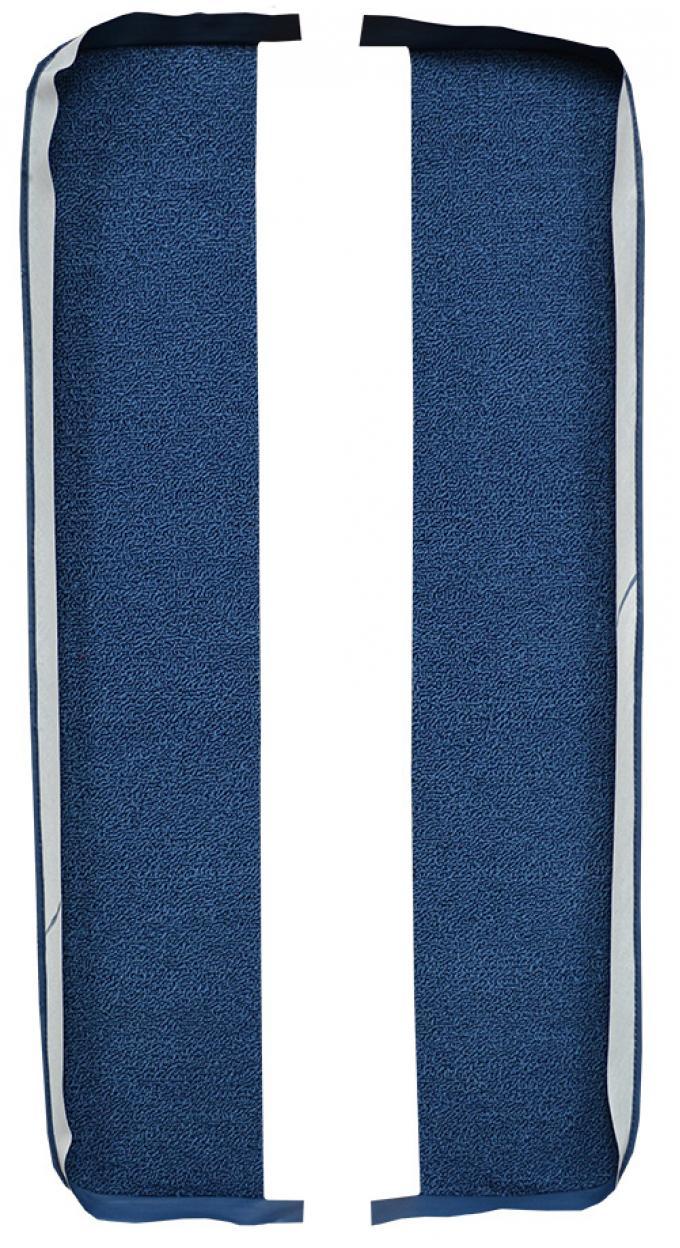 ACC  Chevrolet Biscayne Door Panel Inserts 2pc Loop Carpet, 1963-1964