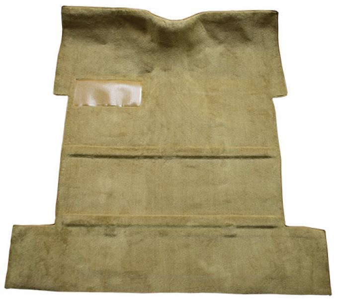 ACC  Chevrolet Truck Reg Cab No Tunnel without Holes Molded Loop Carpet, 1955-1958