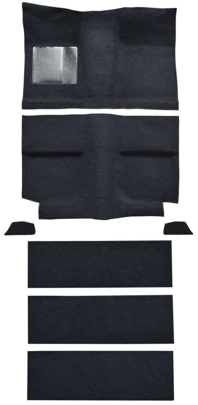 ACC 1964 Ford Mustang Fastback with Folddowns Nylon Carpet