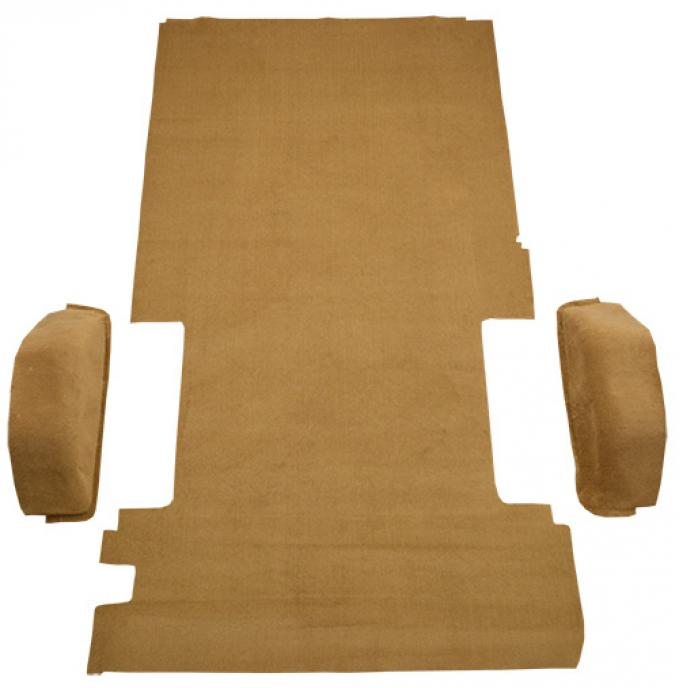 ACC  Chevrolet G10 Long Van Rear Fits 127 Wheel Base Cargo Area Cutpile Carpet, 1978-1982