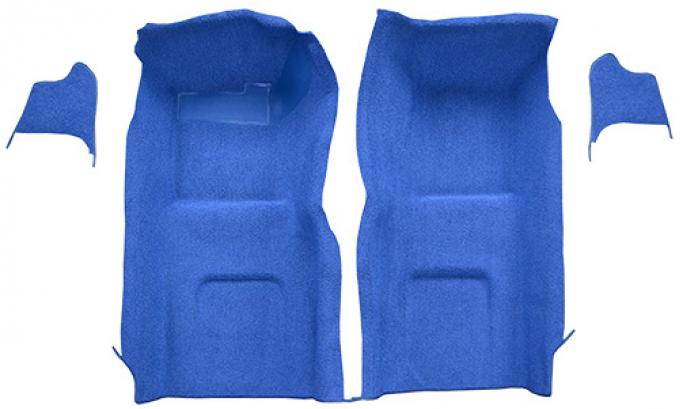ACC  Chevrolet Corvette Fronts with Kick Panel Inserts No Pad Loop Carpet, 1965-1966