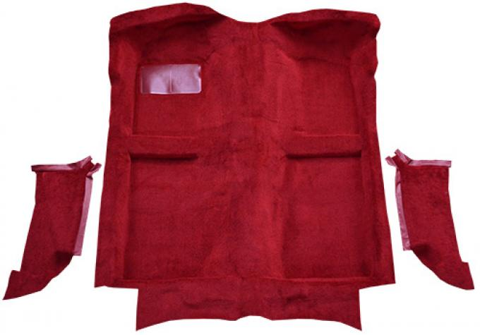 ACC  Ford Mustang Convertible with Molded Quarter Panels Cutpile Carpet, 1983-1989