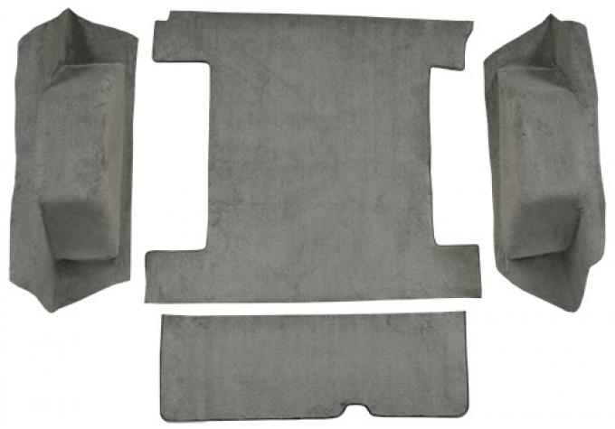 ACC  Ford Bronco Cargo Area with Tailgate Lock Cutpile Carpet, 1977
