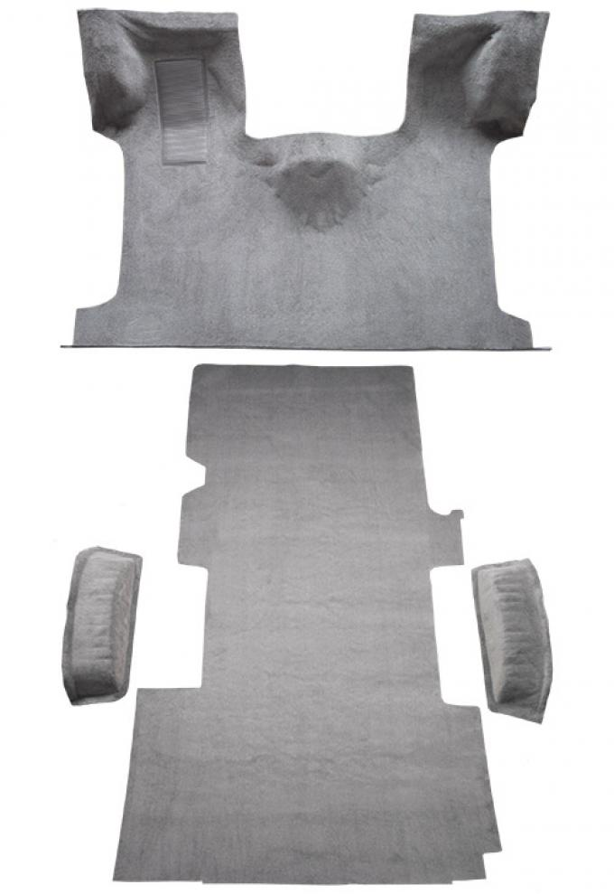 ACC  Ford E-150 Econoline Ext Fits Gas or Diesel Complete Cutpile Carpet, 1992-1996