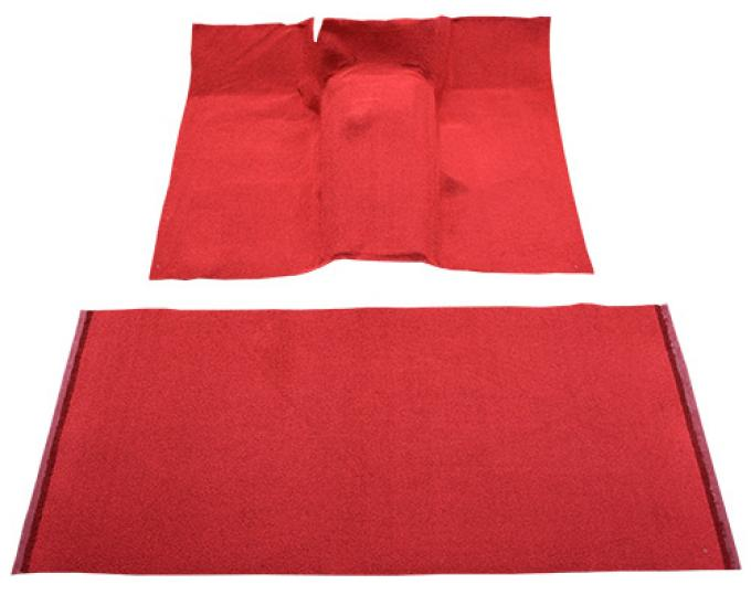 ACC  International Scout 800-80 4 Cylinder 2 & 4WD Pass Area Floor Shift Loop Carpet, 1961-1971