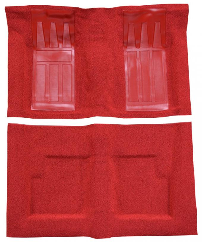ACC  Ford Torino GT 2DR Convertible Auto with 2 Red Inserts Loop Carpet, 1969-1971