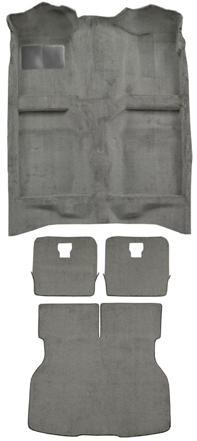 ACC  Ford Mustang Hatchback Fits Rear Split Seats Complete Cutpile Carpet, 1983