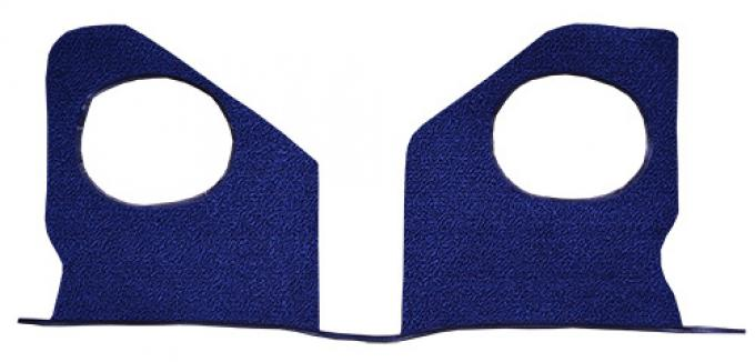 ACC  Chevrolet Biscayne Kick Panel Inserts without Air Loop Carpet, 1964